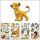 LE ROI LION Simba 48 STICKERS Muraux Décoration Mural chambre Enfant
