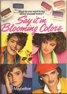 Maybelline - This Model Was EVERYWHERE Back In The 80s!!