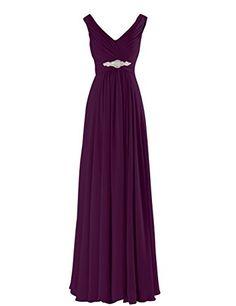 Yougao Women's V Neck A-Line Chiffon Long Floor Length Evening Dress Gown US 26W Plum Yougao http://www.amazon.com/dp/B00ZU7PQPM/ref=cm_sw_r_pi_dp_TehNvb12QEWJZ