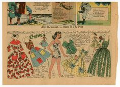 77.5851: Elaine | paper doll | Paper Dolls | Dolls | Online Collections | The Strong