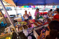 5 Great Foods at Mercado Olympic Outdoor Market