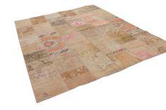 Patchwork vloerkleed, vintage, divers, 295cm x 236cm | Rozenkelim.nl - Groot assortiment kelim tapijten