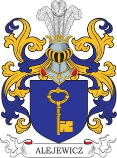 Alejewicz Family Crest and Coat of Arms