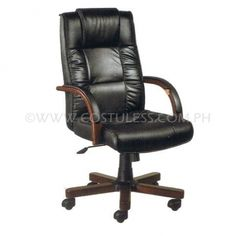 Product Code: HBC-6501B  Sale Price: P6 799.00 Description: EXECUTIVE OFFICE CHAIR WOODEN  Features: EXECUTIVE OFFICE CHAIR WOODEN 6501B Brand: ERGODYNAMIC