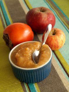 Compote de pommes aux kakis