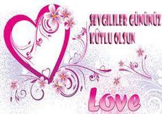 Sevgililer gününüz kutlu olsun... Arabic Calligraphy, Love, Amor, Arabic Calligraphy Art