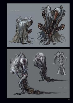 Post with 1087 votes and 78171 views. Shared by Tonguetyd. Creature Feature, Creature Design, Character Art, Character Design, Bloodborne Art, Dark Souls Art, Beast Creature, Monster Concept Art, D&d Dungeons And Dragons