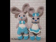 Crochet Bunny, Crochet Dolls, Hobby World, Hobby Cnc, Hobbies For Men, Hobby Trains, Art Japonais, Smurfs, Teddy Bear
