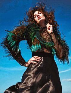 Amanda Murphy by Mario Sorrenti for Vogue Paris October 2013