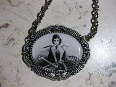 Theda Bara Cameo Necklace by DahliaDeranged on Etsy, $18.00
