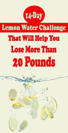 Today, we would like to present you with a lemon water challenge for weight loss. Only 14 days and you can lose your extra pounds. The results will be perfect and your body will be really thankful. water A lemon water challenge to lose weight Yoga Routine, Workout Routines, Workout Plans, Weight Loss Drinks, Weight Loss Tips, Water For Weight Loss, Tips On Losing Weight, Exercise For Weight Loss, Diet For Weight Loss