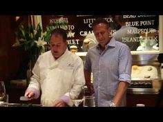 Chef Josh Capon & Pat LaFrieda | Episode # 2 | EAT (RED) Video Series Presented by Infiniti - YouTube