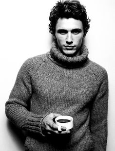 James Franco, with your cup of coffee