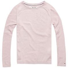 Klassischer Hilfiger Denim Faith Sweater mit Rundhalsausschnitt und geradem Schnitt. Das Logostitching befindet sich auf der Brust.60% Baumwolle, 20% Viskose, 20% Polyamid...