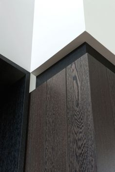 Detail of the panelling, Crosby kitchen