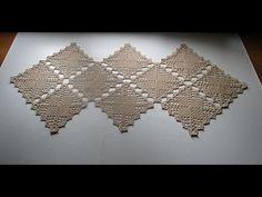 Uncinetto crochet centro tavola centrino tutorial