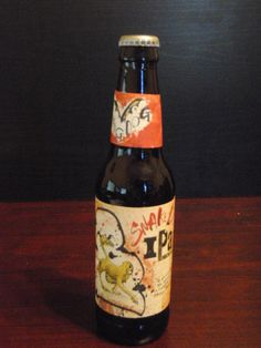 Snake Dog IPA by Flying Dog Brewery of Frederick MD - 7.1% ABV