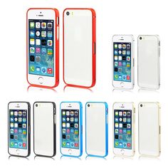 Thin Aluminum Bumper Frame Case Cover For iPhone5 5S 5
