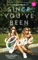 Since You've Been Gone by Morgan Matson 37 YA Books You Need To Add To Your Reading List Young adult books to read Ya Books, I Love Books, Great Books, Good Books To Read, Amazing Books, Connecticut, Gone Book, Morgan Matson, Since Youve Been Gone