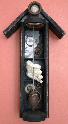 House of Astronomy II, mixed media assemblage by Anastasia Osolin