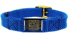 great idea!  QR code collars containing all your pet's ID info.  PetHub Link ScruffTag Collar $29.00