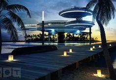 Hotel em Dubai promete oferecer quartos a 10 metros embaixo da água