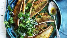 Golden fillets: Pan-fried whiting with burnt butter.