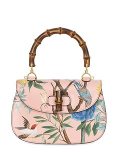 21a524fa072f44 Shop for Classic Bamboo Printed Leather Bag by Gucci at ShopStyle.
