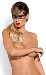 Kokieteryjna metalowa maska na oczy od Obsessive
