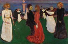 Edvard Munch The Dance of Life. 1899–1900. Oil on canvas, 49½ × 75 in. Nasjonalgalleriet, Oslo