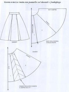 Моделирование юбок - carolincik - Álbumes web de Picasa