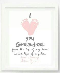 Cute gift for parents or grandparents