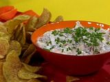 French Onion Dip and Chips