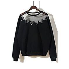 Megan Mesh Pop Detail Jumper $55.00 http://www.helloparry.com/collections/new-arrival/products/megan-mesh-pop-detail-jumper