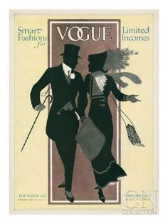 Vogue Cover - February 1912 Poster Print at the Condé Nast Collection
