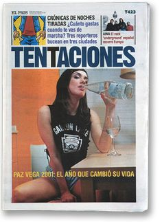 Tentaciones. Design by Fernando Gutierrez.