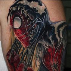 olio.tattoo Spider Spiderman Tattoo by @iusedtosurf from Bearcat Tattoo Gallery - San Diego, CA @iusedtosurf #spider #spiderman -- More at: https://olio.tattoo/tattoo-images/mentions:spider
