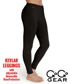 $150 GOGO GEAR WOMEN KEVLAR PANTS MOTORCYCLE LEGGINGS PROTECTION SIZE 6 NWT #GoGoGear