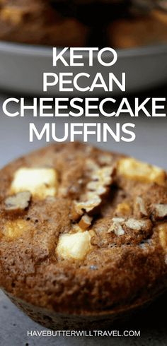 Muffins are a great for when you need something quick for breakfast or a snack. Great to store in the freezer. These sweet keto pecan cheesecake muffins will also be popular with kids and the non keto family members. women beauty and make up Keto Desserts, Keto Friendly Desserts, Keto Snacks, Snack Recipes, Dessert Recipes, Recipes Dinner, Delicious Recipes, Keto Foods, Appetizer Recipes