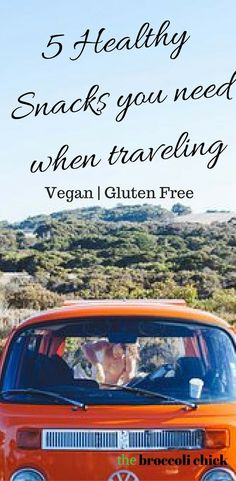 Check out these 5 healthy snacks for on the go. Vegan | Gluten free