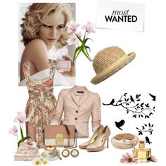 Fresh As Springtime, created by jacque-reid on Polyvore