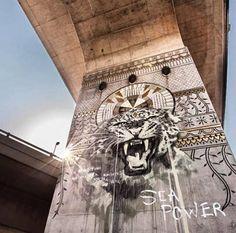 FAITH47.. . #streetart #graffiti