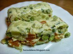Recetas Caseras Fáciles MG: Pastel de verduras Guacamole, Side Dishes, Mexican, Eggs, Breakfast, Ethnic Recipes, Food, Vegetable Pie, Snap Peas