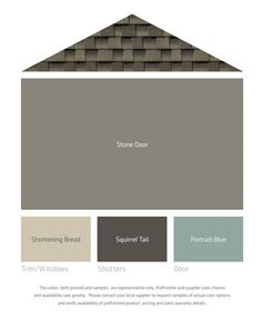 LP Smartside new colors - part of The Decorologist Exterior Color Collection for LP Smartside siding and trim products. Help name the new colors.