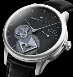 Maurice Lacroix Masterpiece Roue Carrée Seconde #MauriceLacroix Swiss Watchmakers #horlogerie @calibrelondon