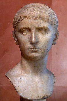 Lucius or Gaius, grandson of Augustus, ca. 5 B.C.E.,  State Hermitage Museum, St. Petersburg, Russia
