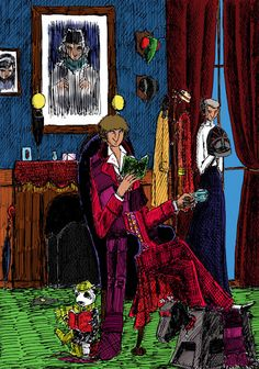 Nest Cottage from Paul Magrs' audioplay The Hornets Nest, featuring the fourth Doctor.