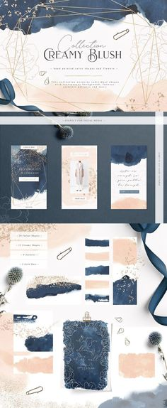 Follow the link to purchase this gorgeous design kit or pin for later! Patterns, frames, peonies, gold dust, watercolour shapes, swashes, individual elements: flowers, color shapes and textures. Perfect for corporate identity, business, cards, wedding stationery, blogs, websites. Perfect for female entrepreneurs, graphic designers and other creatives. #graphicresources #graphicdesign #ad #affiliate #weddingstationery #design #watercolour #feminine #femaleentrepreneurs #websitedesign #elega
