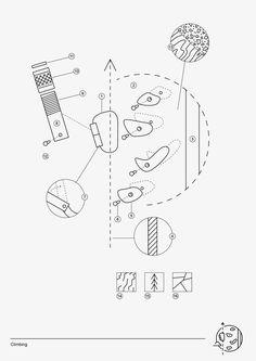 Symbol suites as part of Scout Adventures rebrand Best Presentation Templates, Presentation Board Design, Presentation Backgrounds, Graphic Score, Concept Diagram, Architecture Drawings, Technical Drawing, Graphic Design, Adventure