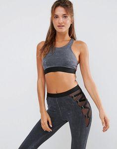 Buy Gray Blue life Sports bra for woman at best price. Compare Bras prices from online stores like Asos - Wossel Global Tie Dye Bikini, Halter Bikini, Bikini Tops, Kids Swimwear, Swimsuits, Bikinis, Blue Swimsuit, Girls Leggings, Blue Life